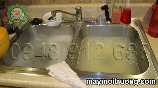 Cách thông tắc bồn rửa bát