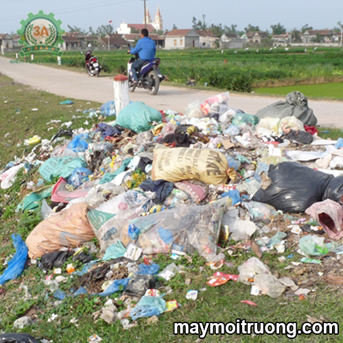Tác hại của rác thải'><br></p> <p style=